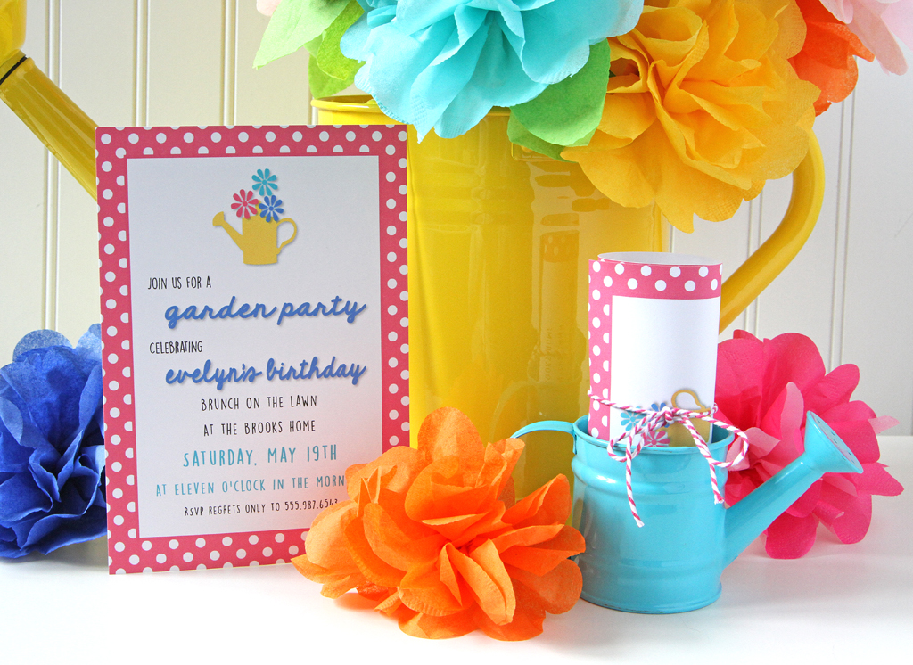Blooming Garden Party Ideas