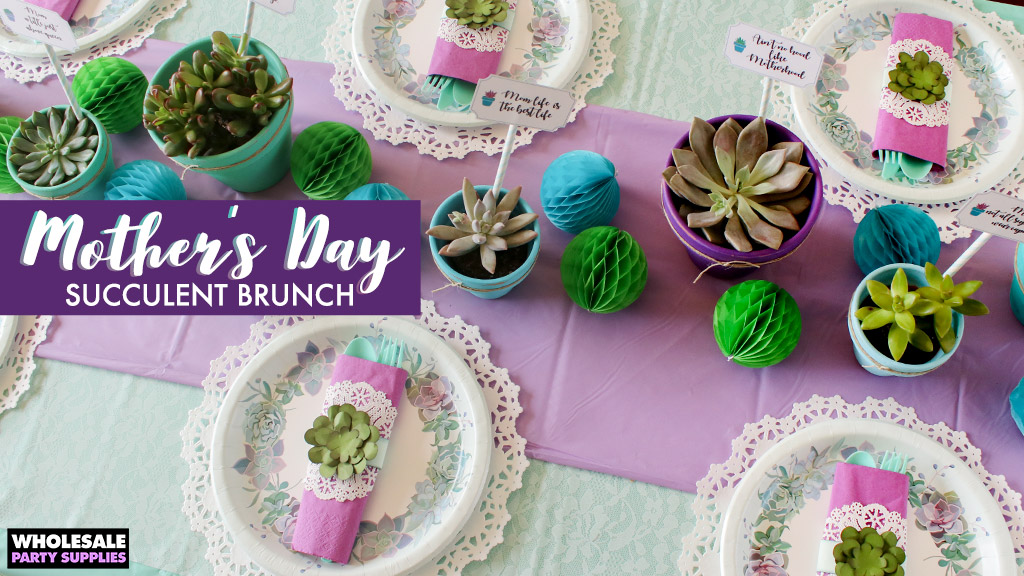 Mother's Day Brunch - Surrounded by Succulents