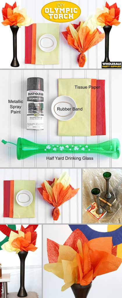 DIY Olympic Torch Tutorial