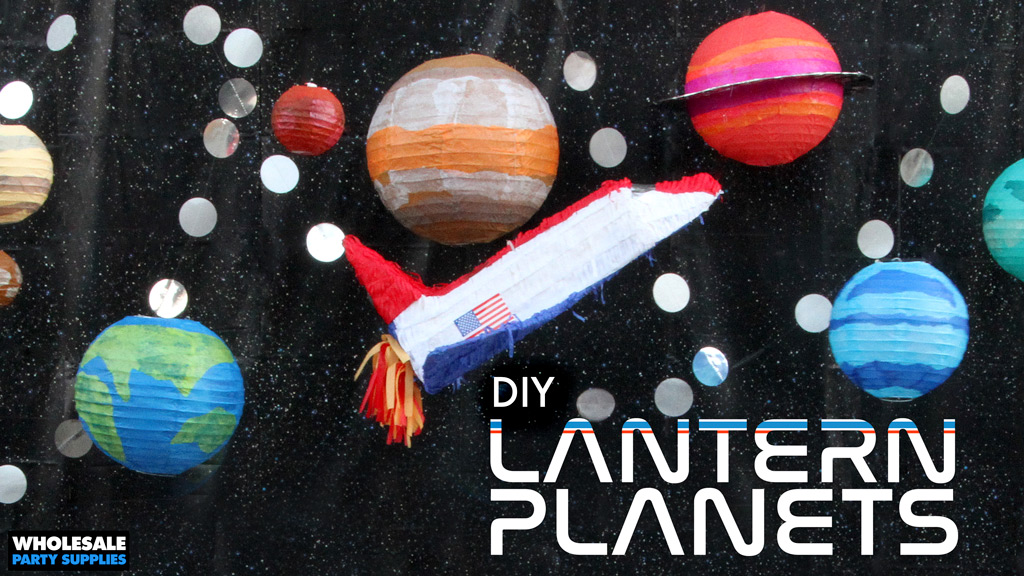 DIY Solar System Decoration