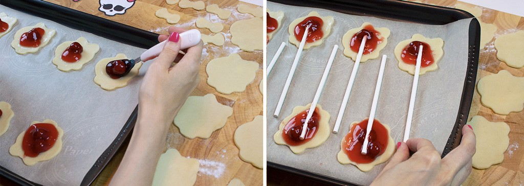 Monster High Pie Pops Recipe & Tutorial Step 2