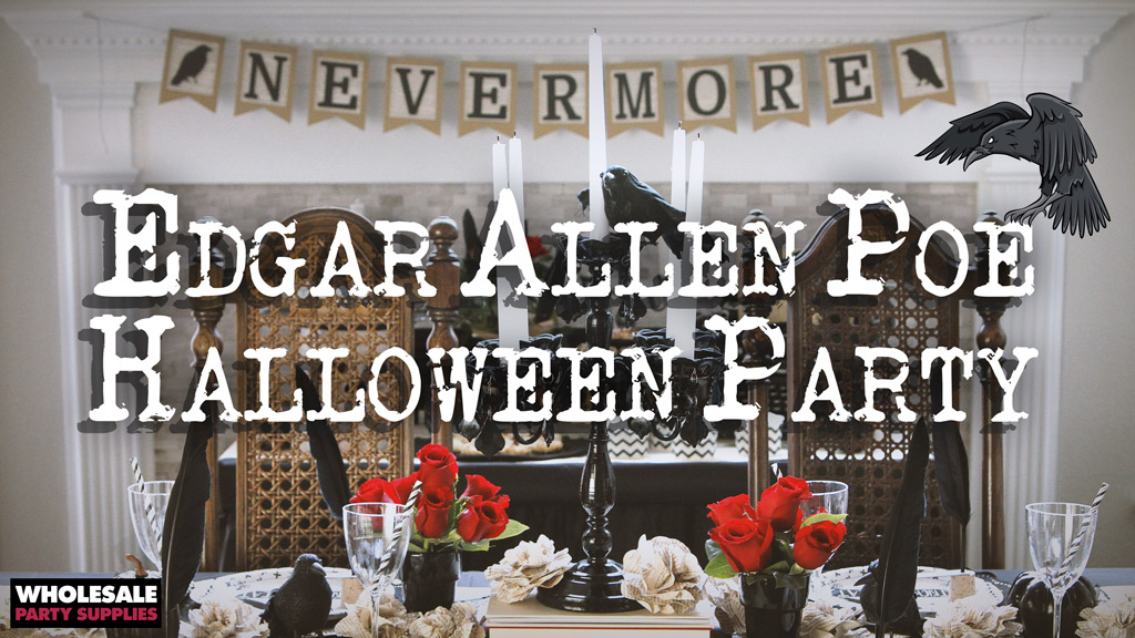 Edgar Allen Poe Themed Halloween Party