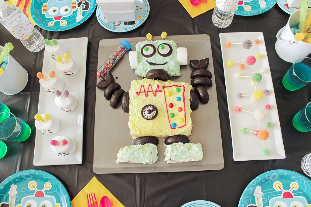 Robot Science Party Food Ideas