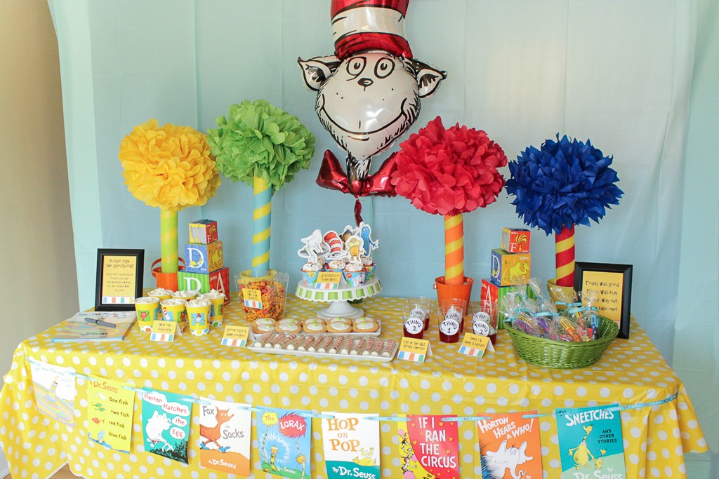 Dr Seuss Birthday Party Party Ideas Activities by Wholesale