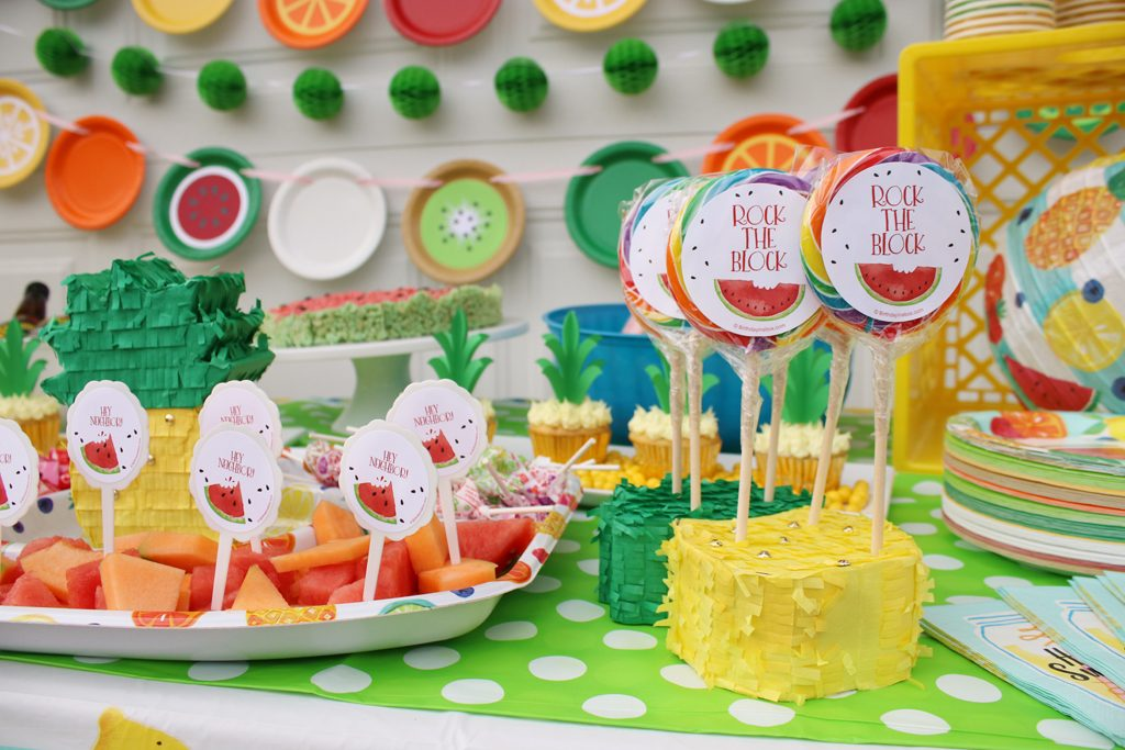 Summer Fruit Party Food Details