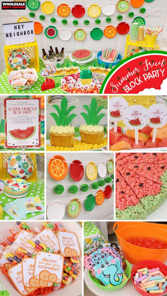 Summer Fruit Party Pinterest Guide