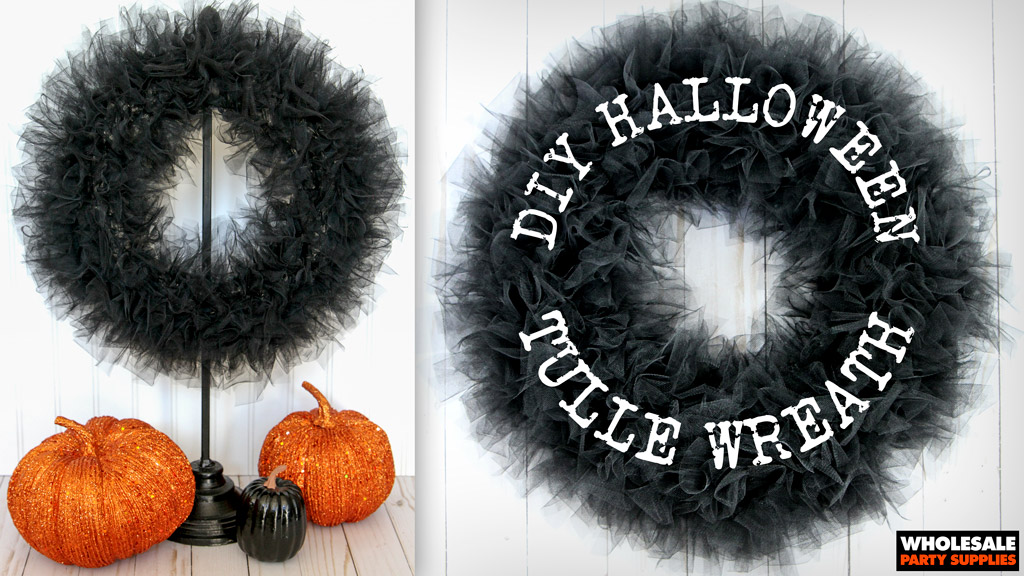 DIY Tulle Wreath