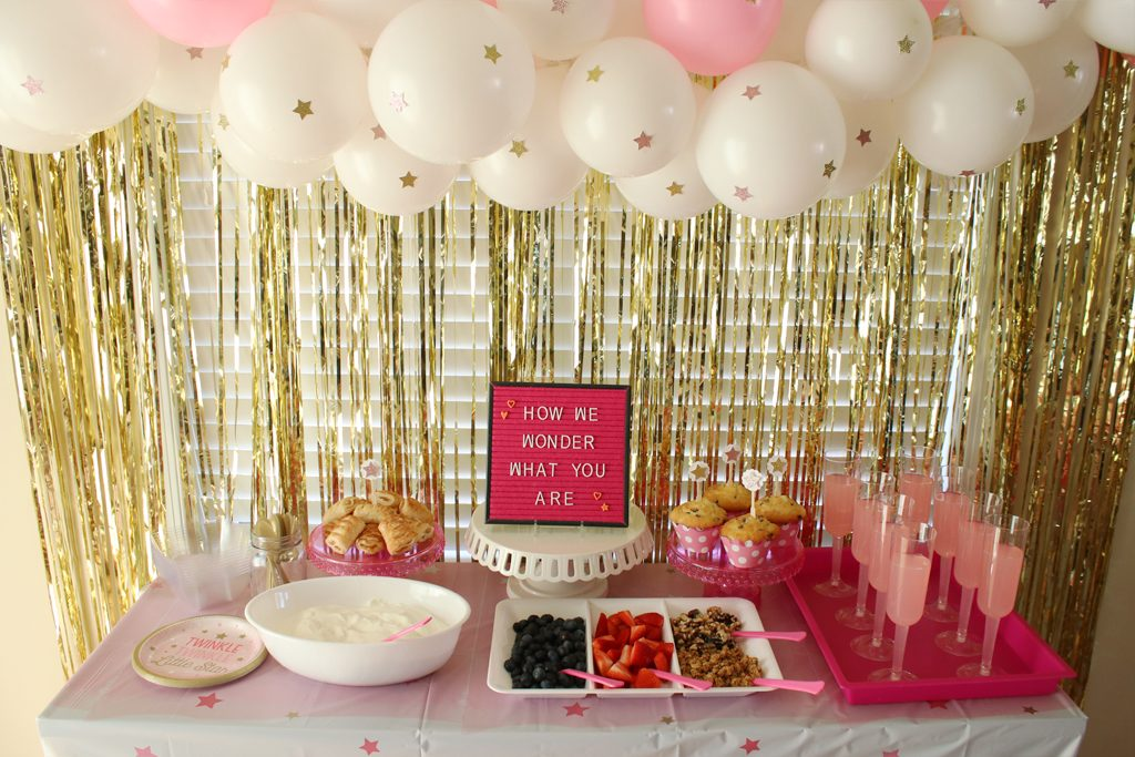Twinkle Twinkle Pink Baby Shower Party Ideas Activities By