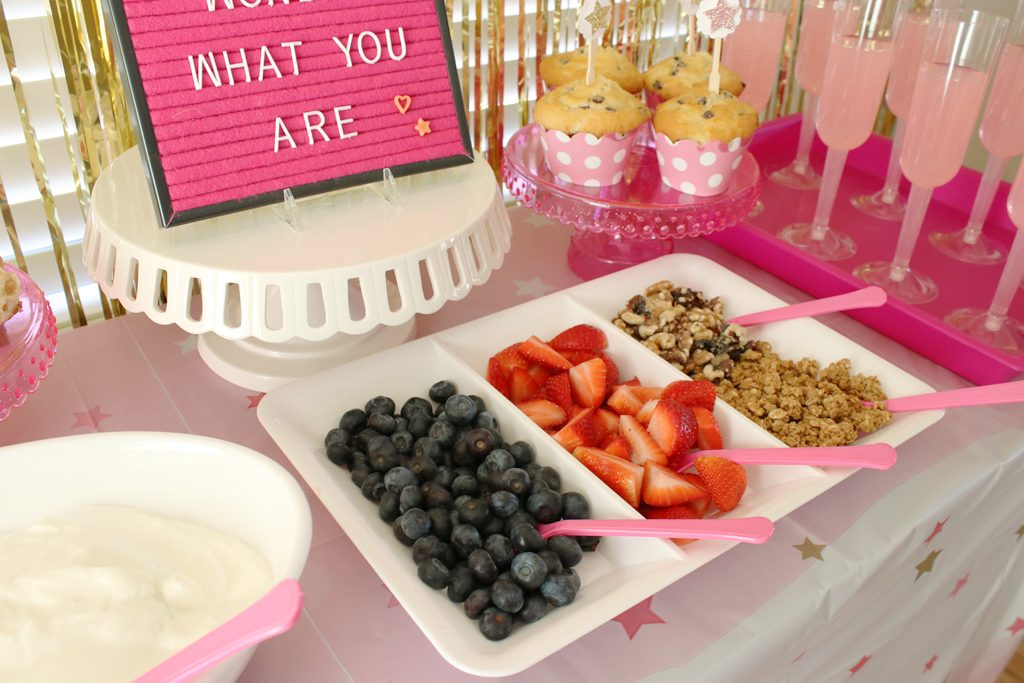 Food Le Pink Baby Shower