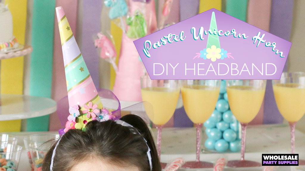 Diy Unicorn Headband Party Ideas Activities By Wholesale Party
