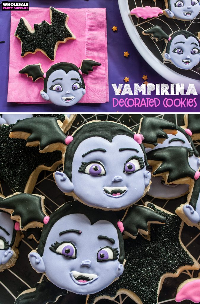 Vampirina Decorated Cookies Pinterest Guide