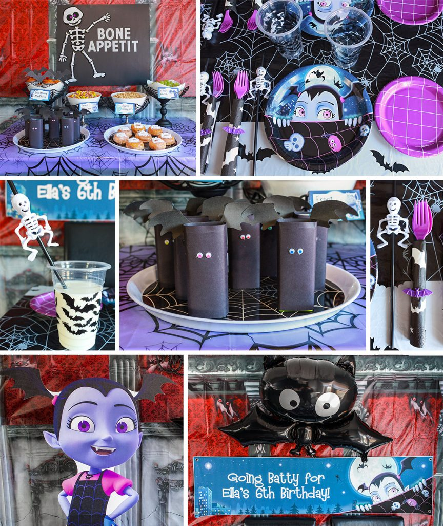 Vampirina Party Decorating