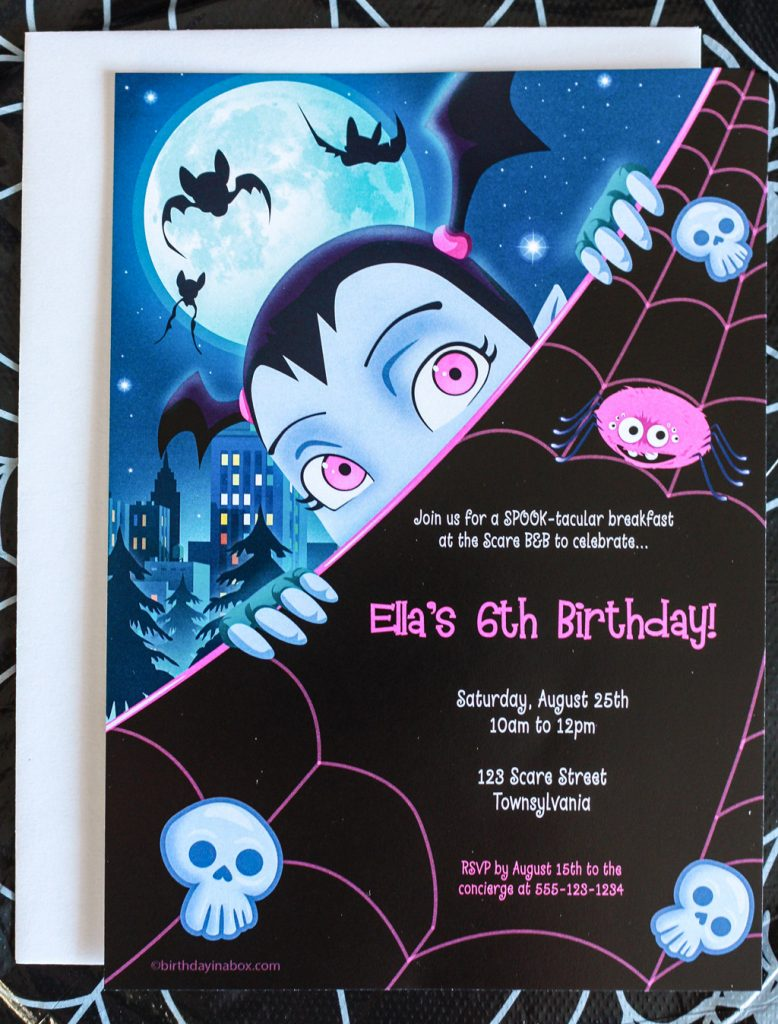 Vampirina Party Invitations