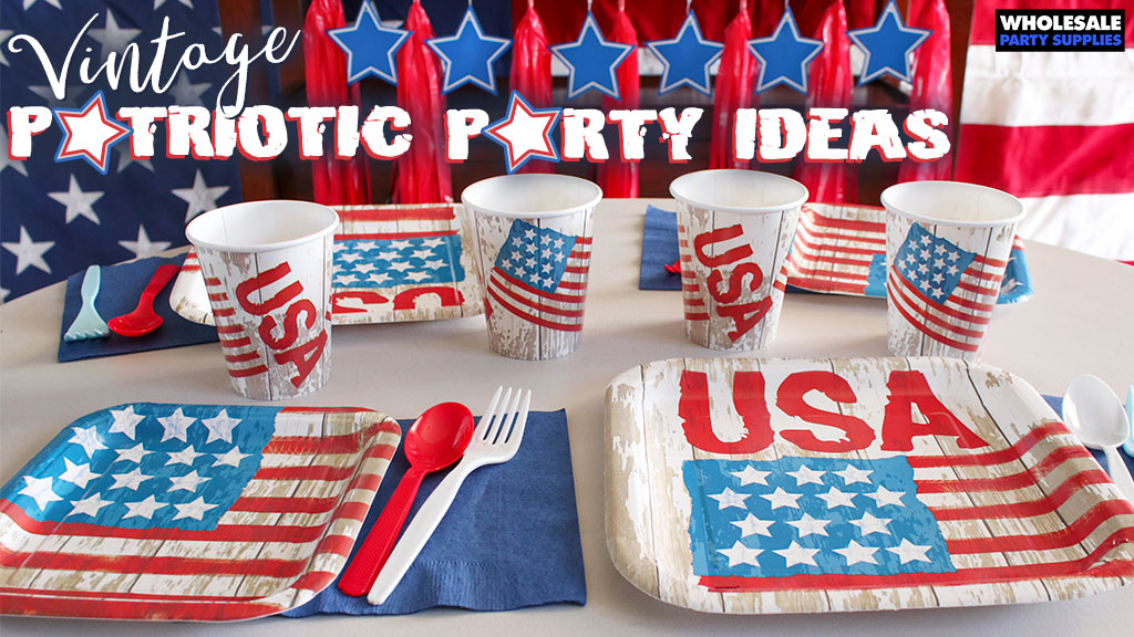 Vintage Patriotic Party Party Ideas Activities By Wholesale