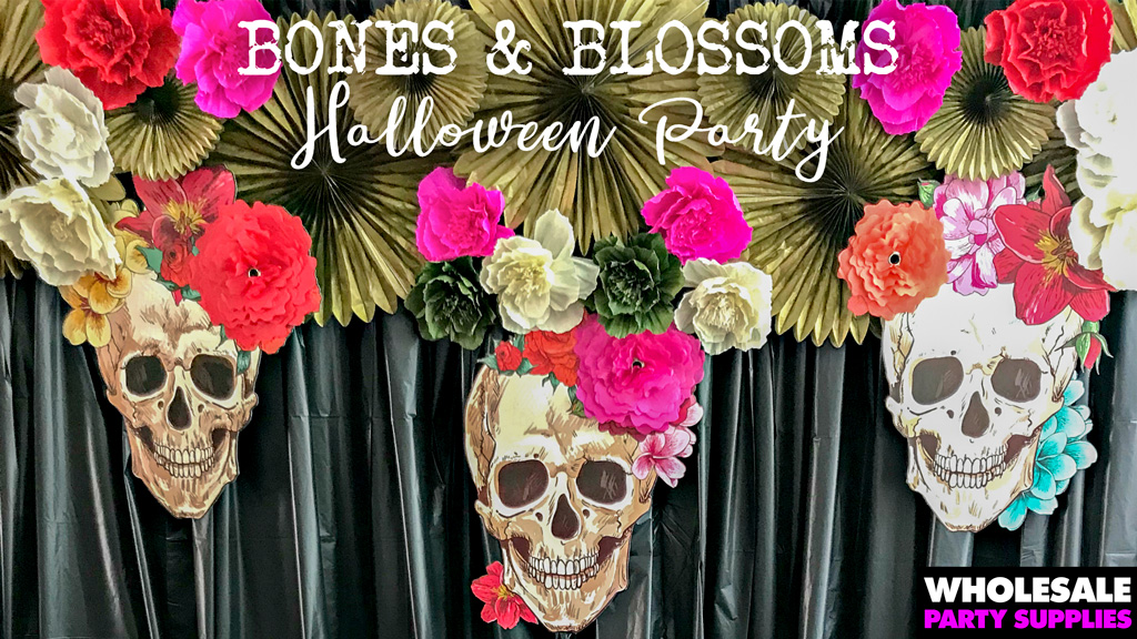 Bones and Blossoms Party