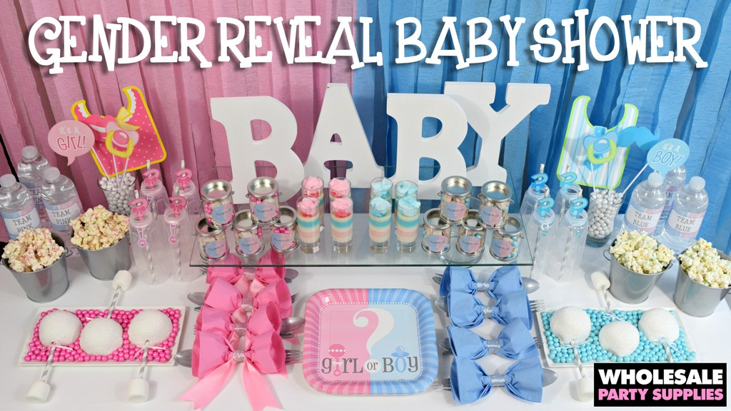 Baby Shower Gift Ideas When You Dont Know The Gender : Gender reveal baby shower ideas party activities